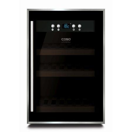 CASO WineSafe 12 borhűtő (fekete)