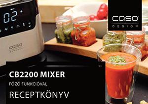 Receptkönyv mixer